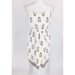 Madewell Sandstar 100% Silk Ivory Dress New
